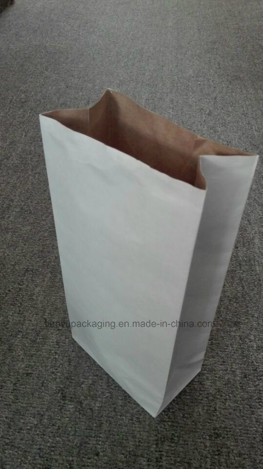 Wood Charcoal Kraft Paper Bag BBQ Charcoal Packaging Paper Bag