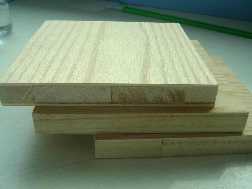 China red oak veneer blockboard for furniture use bl