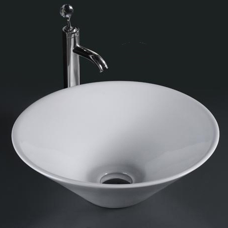Unique Porcelain Bathroom Vessel Sink (6014)