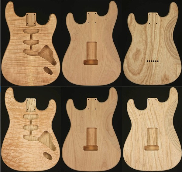 china no paint unfinished strat electric guitar body kngb stu 05 06 china guitar body. Black Bedroom Furniture Sets. Home Design Ideas