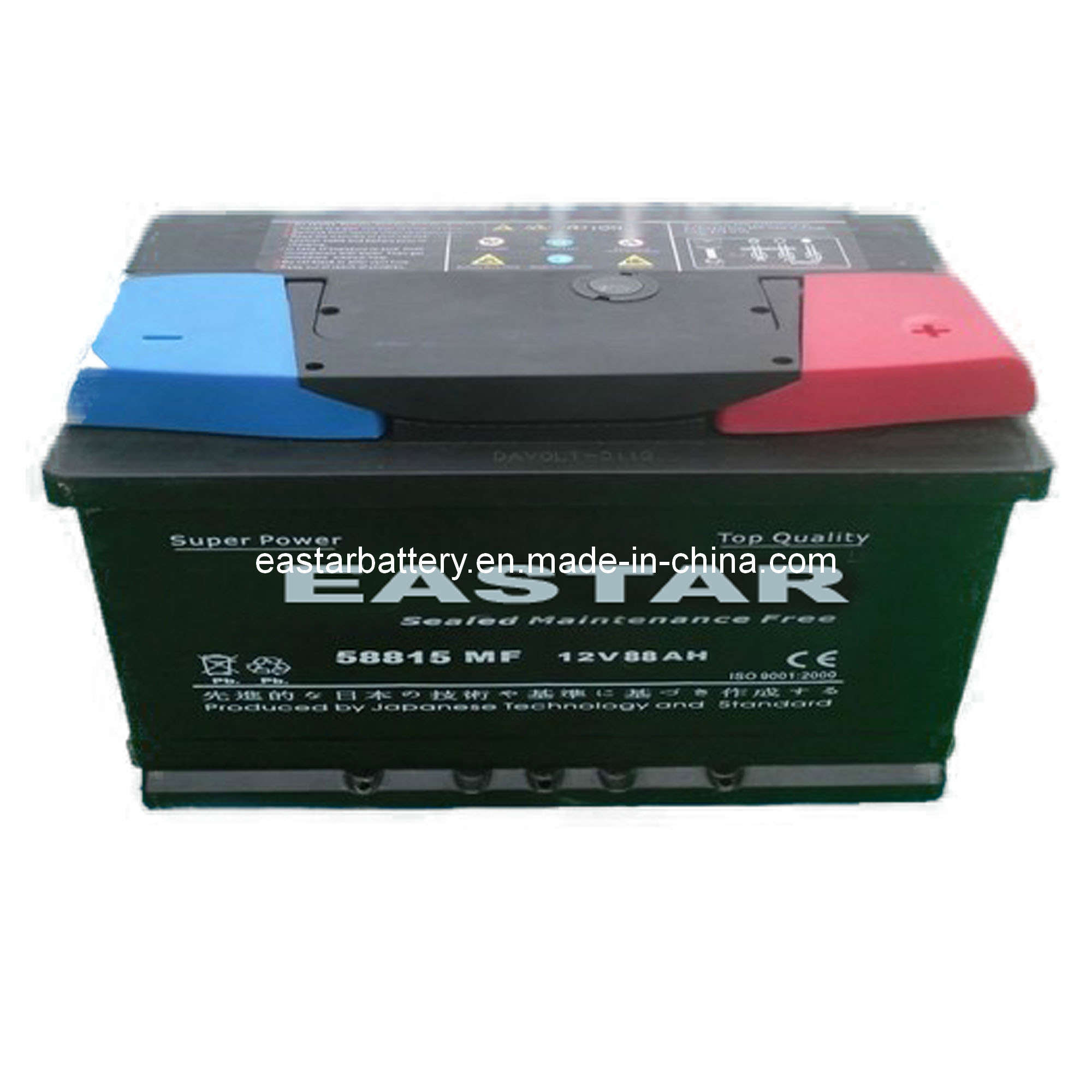 DIN-Standard Mf88 Mf Car Battery 12V, 88ah