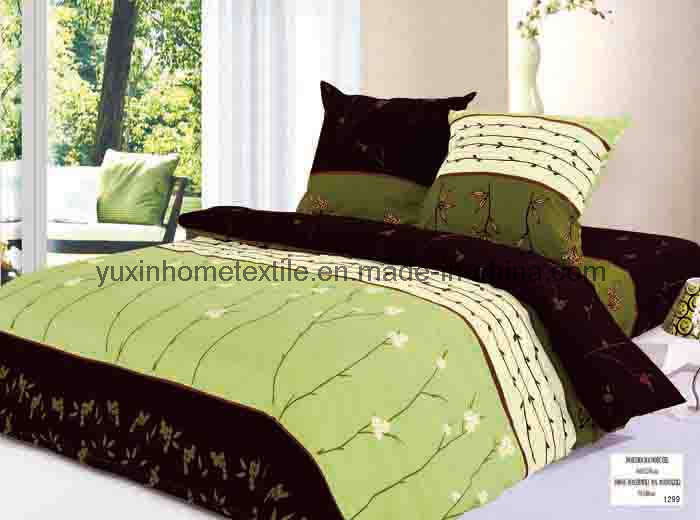 Bon Printed Bed Sheet Sets (YX P508)   China Printed Bed Sheet Sets .