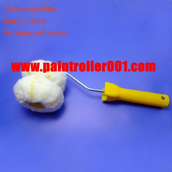 """Outwall Corner Paint Roller with 100% Acrylic Fiber (3"""")"""