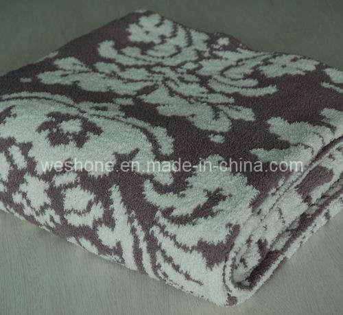 Polyester Blanket, 100% Polyester Blanket, Chenille Blanket Pb-K0903