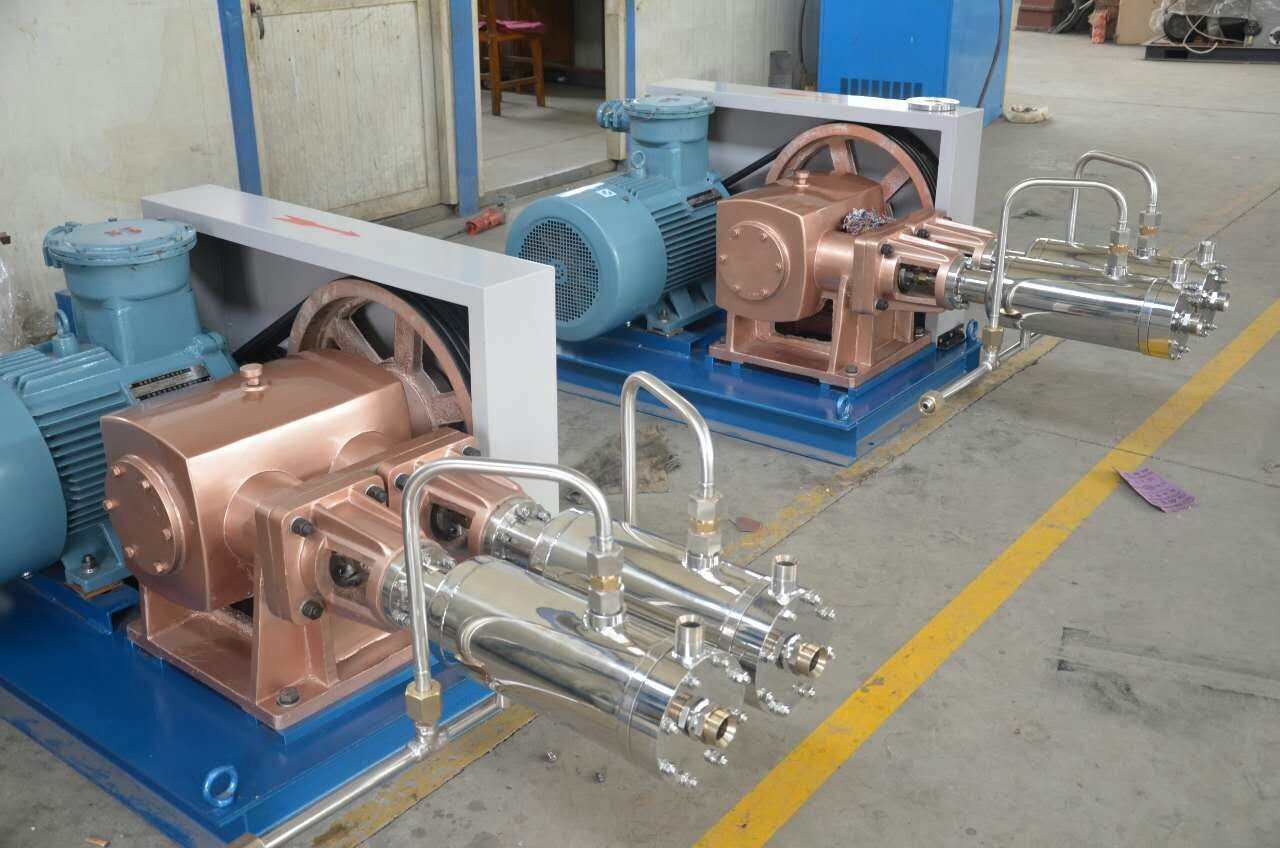 Spec of Low Temp (liquid O2/N2/Ar) Pump