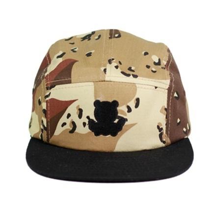 Strap Back Cap Custom 5 Panel Hat