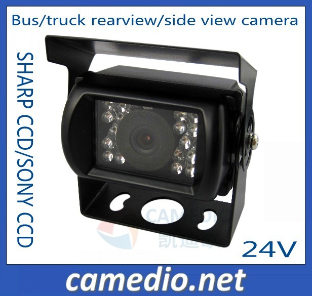 Waterproof IR Night Vision Bus/Truck Camera for Rearview/Side View CCD 24V (CM-629)