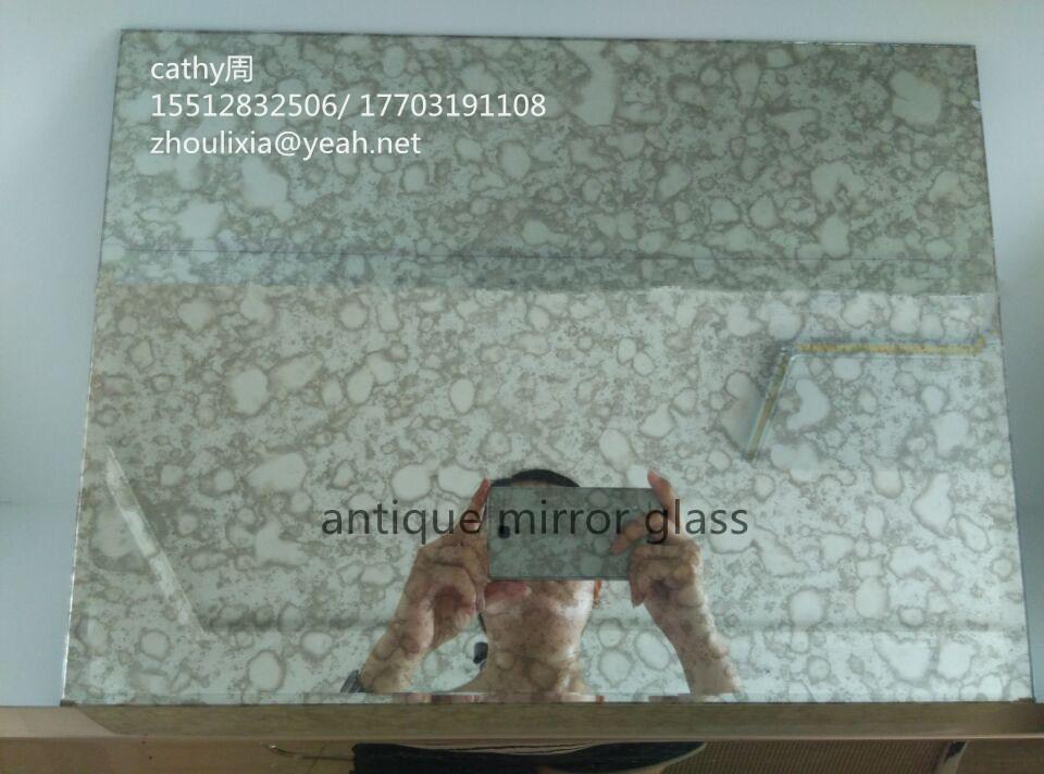 New Design for Furniture Decoraiton --Antique Mirror Glass