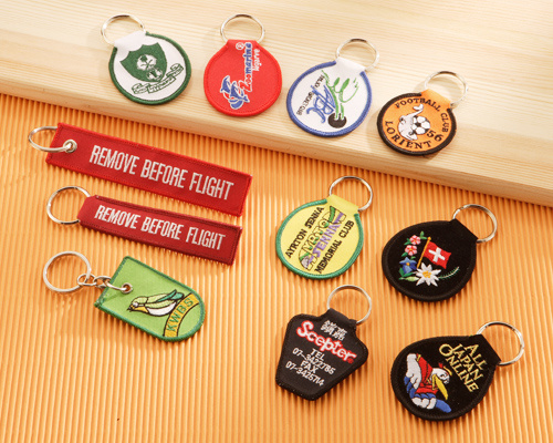 A02 Embroidered Keyholders