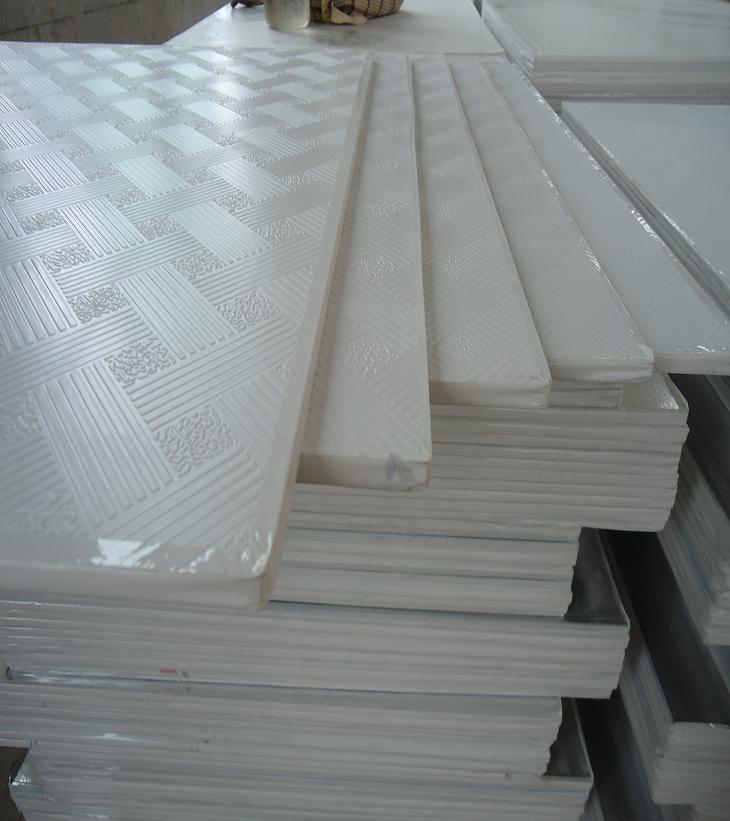 Pvc Laminated Gypsum Board : China pvc laminated gypsum board ceiling tiles