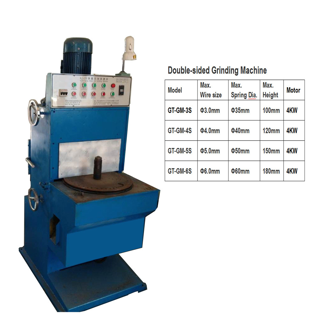 Spring Grinding Machine Gt-GM-3s, Gt-GM-4s, Gt-GM-5s, Gt-GM-6s