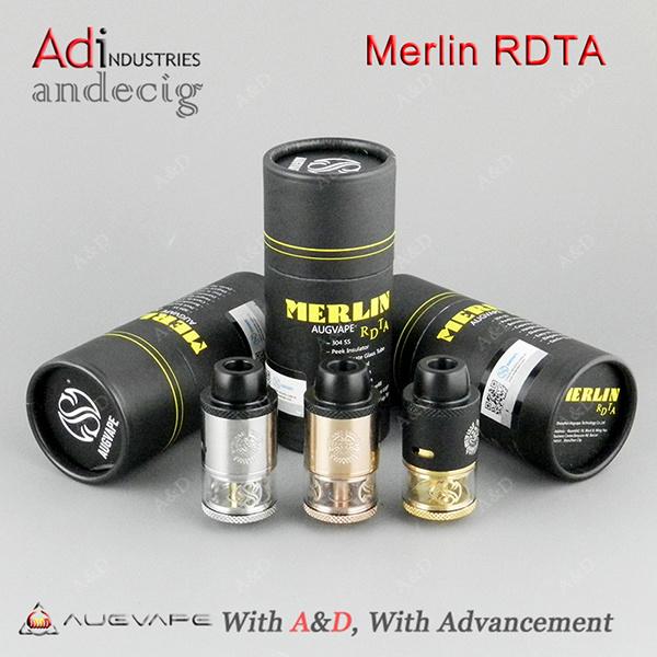 2017 New Arrival Original Augvape Merlin Rdta 3.5ml