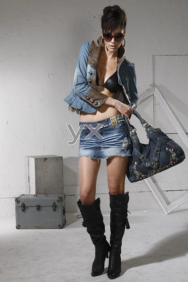 09 Fashion Women Jeans Jacket (8028