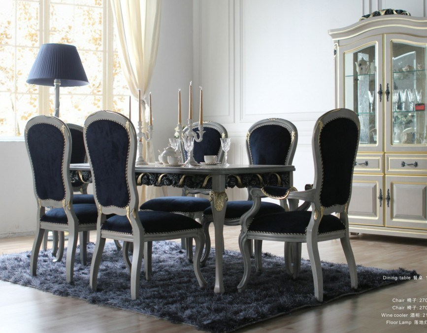 Dining Room Furniture Dining Table With Classic Dining Chair BA 1203