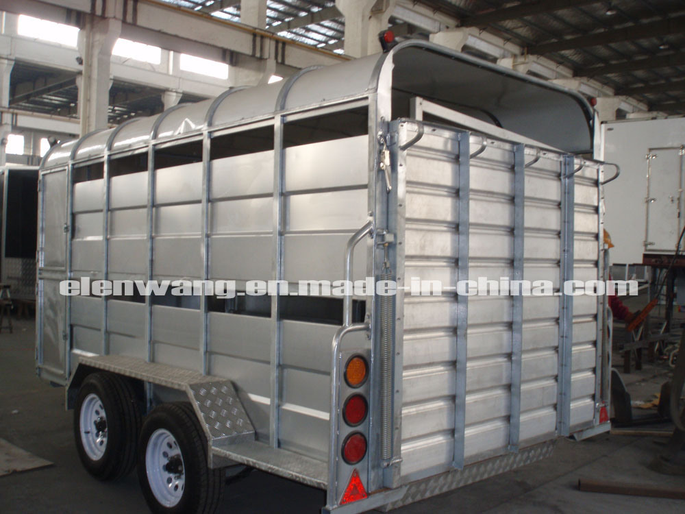 Tandem Axle Livestock Trailers/Cattle or Pig Trailers (GW-LT12)