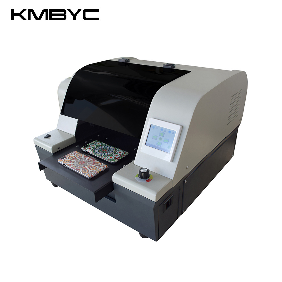 Kmbyc A4 Size 6 Colors UV Digital Flatbed Printer