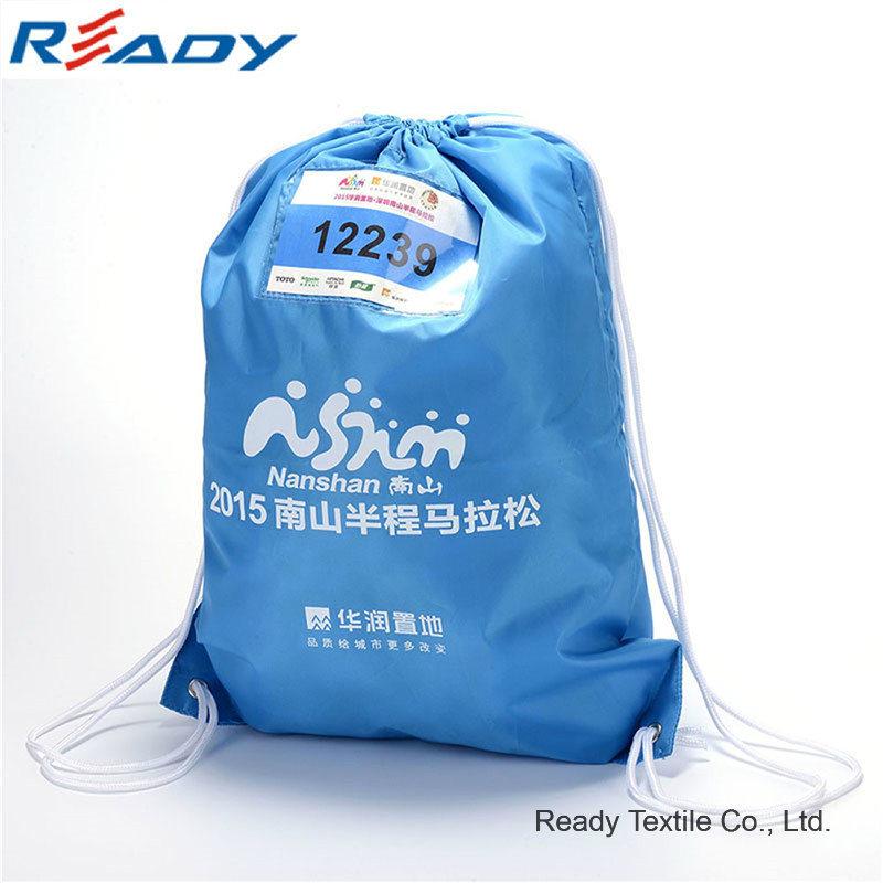Blue Polyester Sport Backpack for Marathon