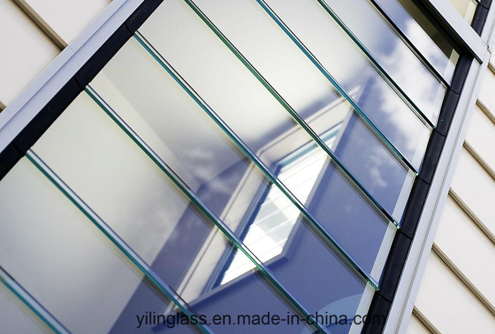 Tempered Frosted Louvre Glass with Ce TUV SGCC Certificate