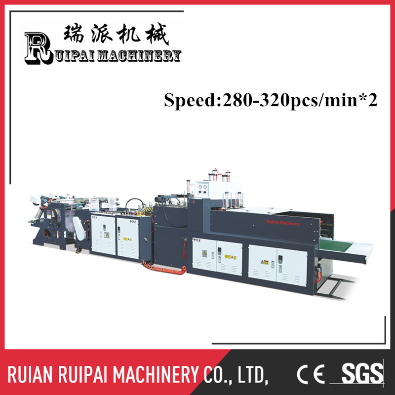High Speed Fully Automatic Plastic Bag Making Machine