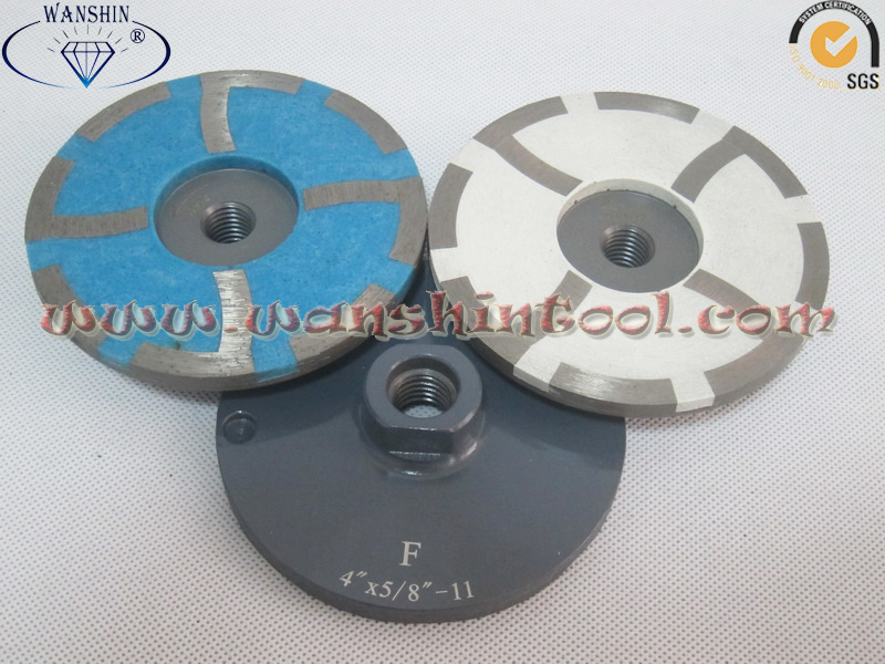 100mm Resin Filled Cup Wheel for Concrete