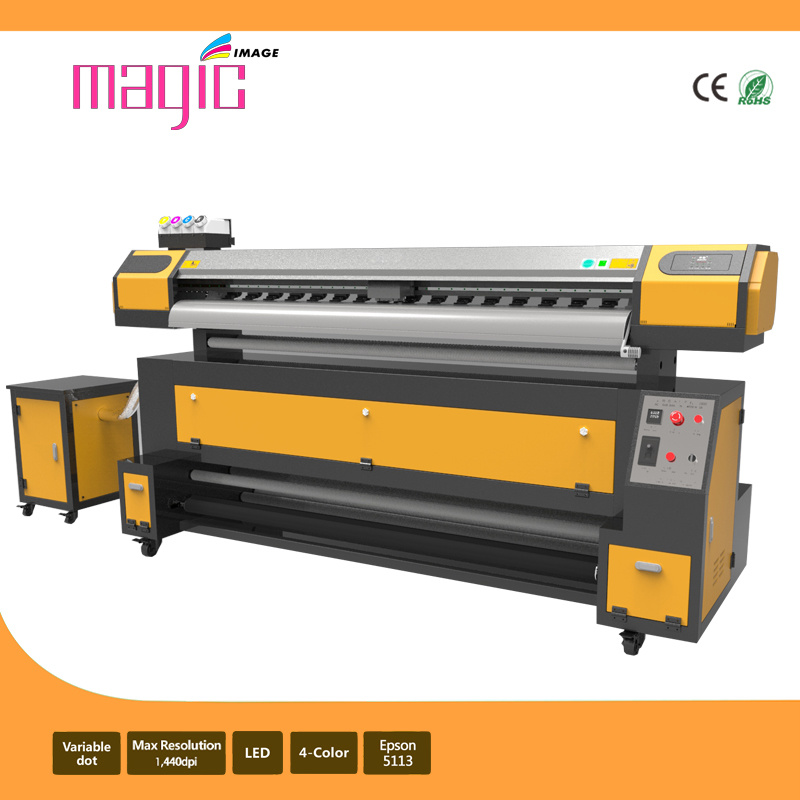 2.1m Sublimation Flag Banner Printer with Epson 5113