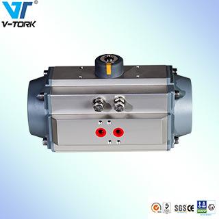 Pneumatic Actuator 5 Port 2 Way Double Acting Actuators Ball Valve