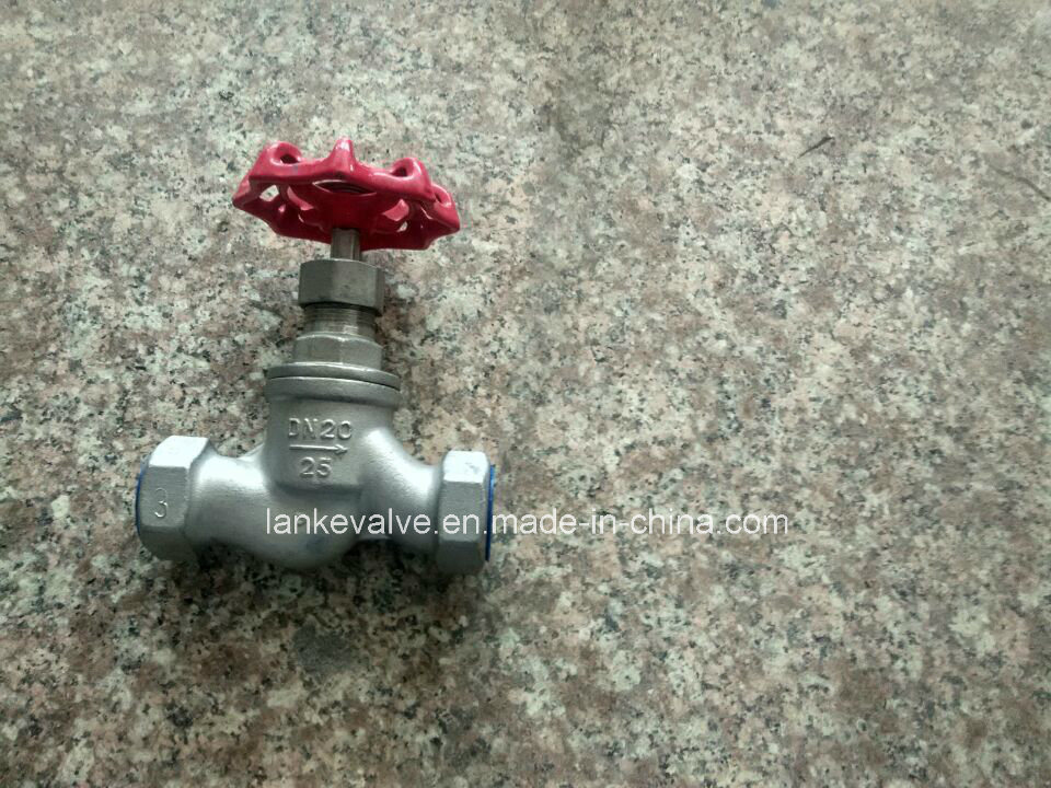 Threaded Globe Valve Wirh Stainless Steel for Wog