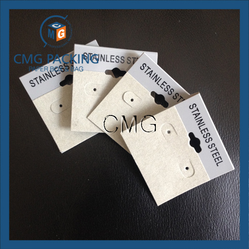 Hot! Custom Velvet Covered Earring Display Card Wholesale