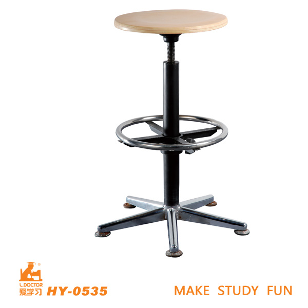 Adjustable Wooden Student Lab Chairs of School Furniture