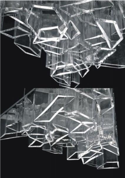 Modern Decoration Stainless Steel Pendant Lamp (KAP6007)