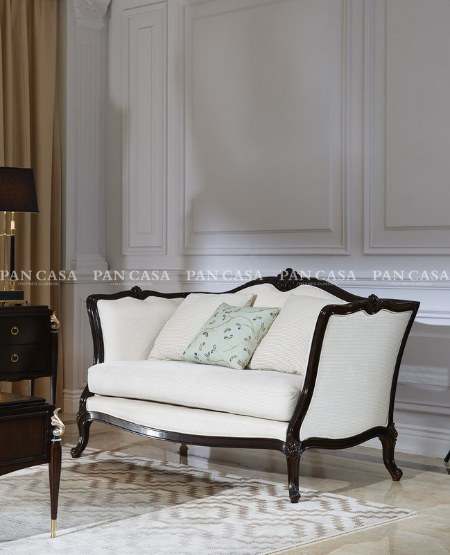 High Quality Classical Wooden Furniture Living Room Sofa (MS-A6032D)