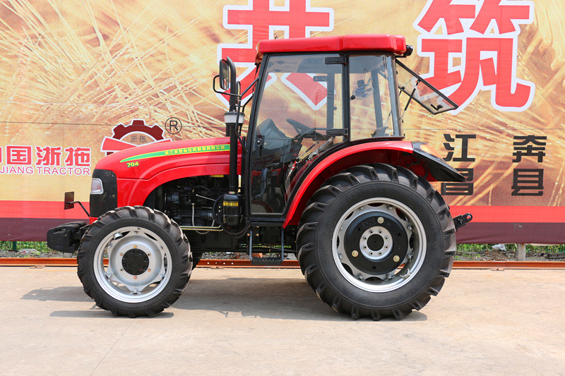70HP 4WD 704 off-Road Farm Tractor Agricultrual Tractor Factory