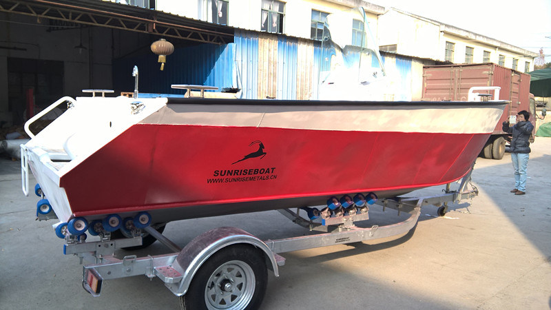 2016 New Beautiful Aluminium Fishing Boats (OVS5-18)
