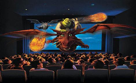 Removable Dinosaur Cinema 5D System
