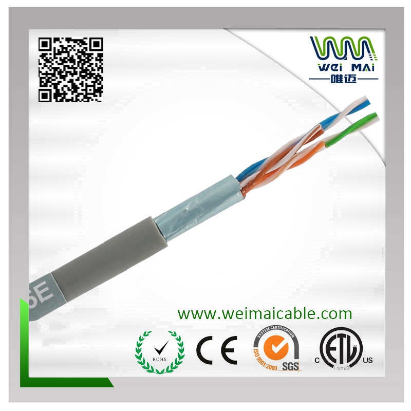 LAN Cable FTP Cat5e 4pair 24AWG Bare Copper