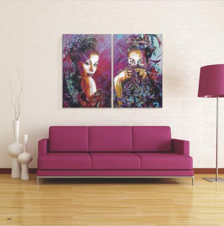 Modern Decoration Canvas Oil Painting