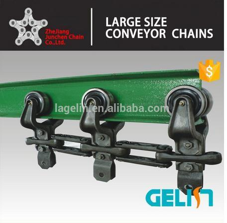 X348 OEM Manufacturing Made in China Detachable Drop Forged Overhead Chain