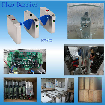 Hot Sell Flap Barrier Turnstile Paint Handling Card Reader Automatic Boom Barriers