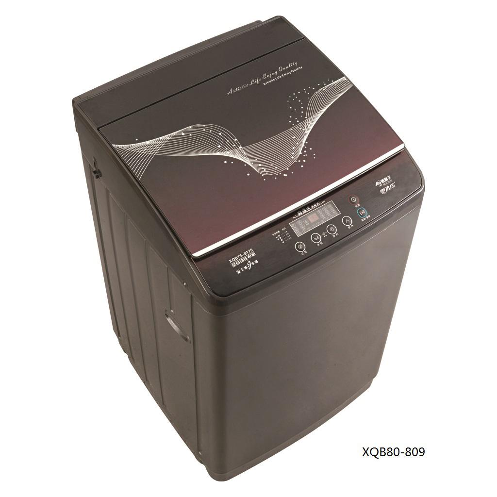 8.0kg Fully Auto Washing Machine (plastic body/ Glass lid) Model XQB80-809