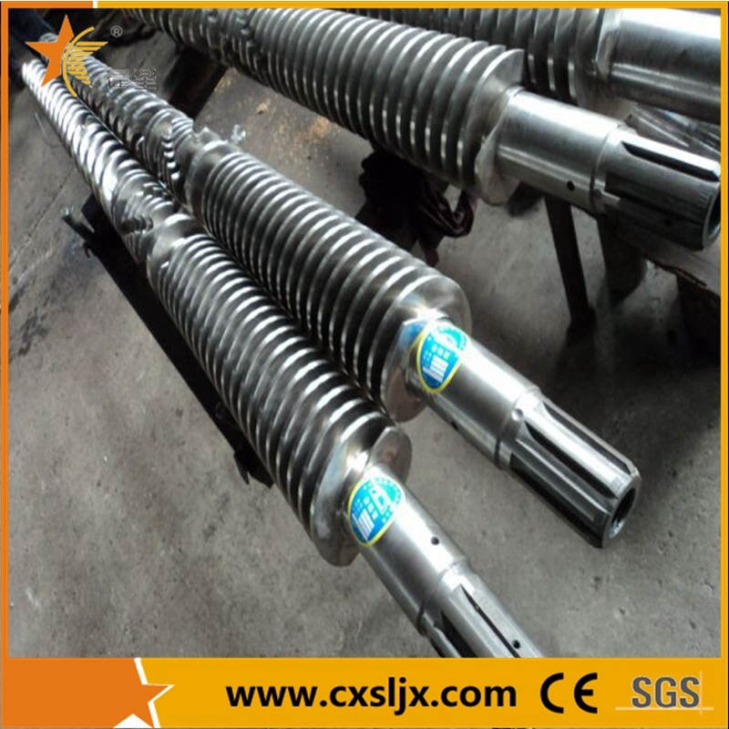 Bimetallic Conical Twin Screw Barrel for PVC Pipe Extruder