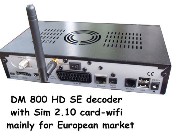 Dream Box Linux HD 800HD Se for Europe Market
