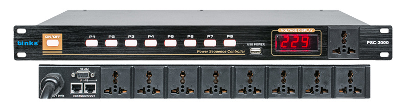 Psc-2000 Professional Power Sequencer Controller
