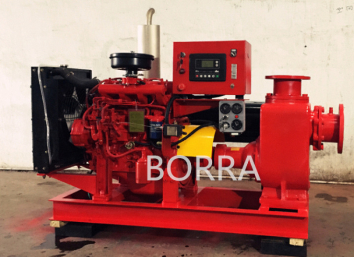 Self-Priming Diesel Water Fire Fighting Pump