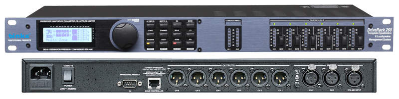 PRO Audio Dynamic Speaker Audio Processor P-260