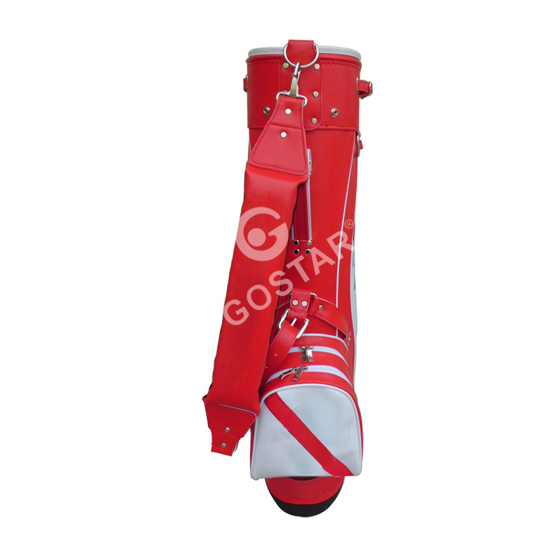 6 Dividers PU Golf Stand Bag