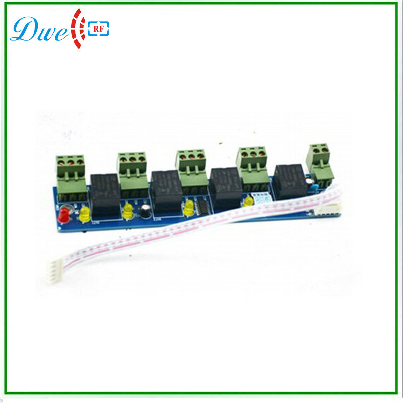 Fire and Alarm Linkage Expansion Panel Dwell-Ep01 for TCP IP Access Controller