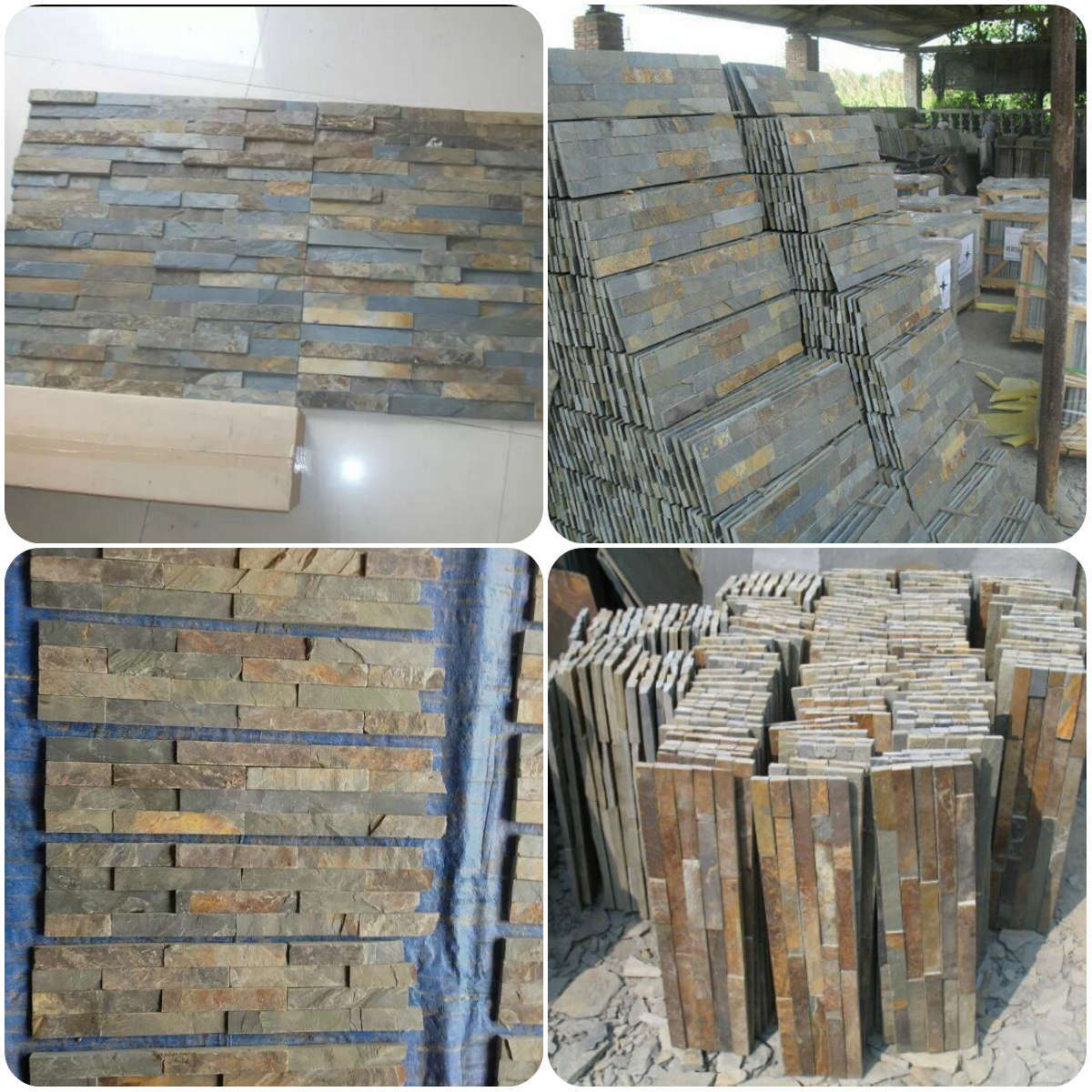 China Yellow/Black/Rustic/Grey/ Roofing/Culture Tile Slate