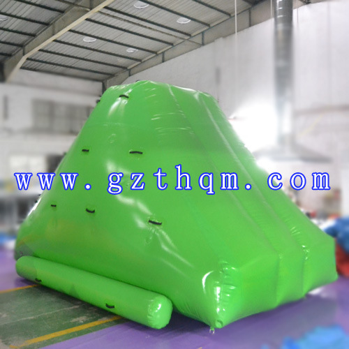 Inflatable Aqua Iceberg Toys with 2 Sides Climbing for Lake