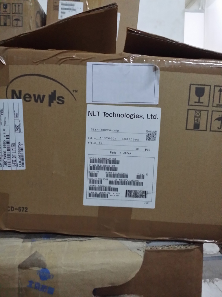 """Nl6448bc20-35f 6.5"""" VGA Sunlight Readable LCD Panel for Industrial Use"""