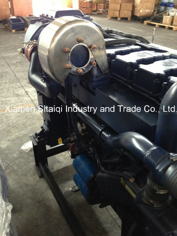 Weichai Wp12c450 Marine Diesel Engine with 450HP 6 Cylinder